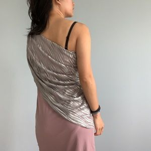 party / cocktail one shoulder dress